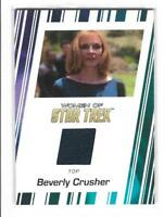 Women of Star Trek 50th Anniversary RC1 Beverly Crusher Top Costume Card