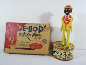 1940's Marx Toys Be-Bop The Jivin Jigger Mechanical Black Toy With Box