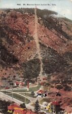 (628) Postcard of Mt. Manitou Senic Incline Ry., Colo.