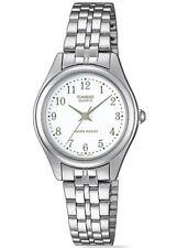Relojes de pulsera Casio de acero inoxidable plateado