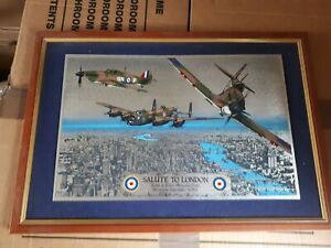 Battle of Britain picture - Salute to London