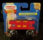 MUSICAL CABOOSE Thomas & Friends Tank Train Engine Wooden Railway NEW IN BOX NIB