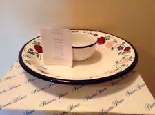 Princess House Orchard Medley 272 chip vegetable & dip serving set