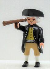 George Washington Playmobil à CONTINENTAL ARMY Amérique USA PRESIDENT Custom RAR