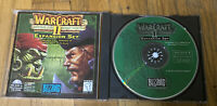 Warcraft 2 II Beyond the Dark Portal Expansion Set by Blizzard. PC. Manual