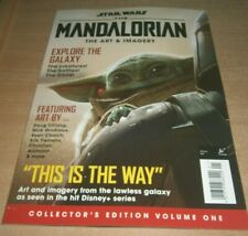 Star Wars The Mandalorian Magazine Collector's Edition Volume 1 Art & Imagery