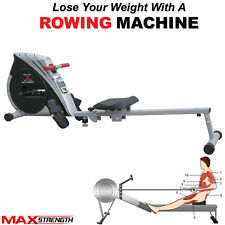 MAXSTRENGTH® Magnetic Folding Rowing Machine Home Gym Rower Fitness Cardio