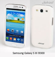 Jekod white Super Cool Case cover+screen protector for Samsung Galaxy SIII i9300