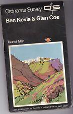 Ordnance Survey Tourist Map BEN NEVIS & GLEN COE (1959)
