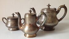 ART KRUPP BERNDORF Art Nouveau original Alpacca coffee set, vintage 1898