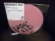 "Against Me Stabitha Christie 7"" 45 RPM vinyl RSD 2017 picture disc"