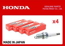 GENUINE HONDA SPARK PLUG SET OF 4 CIVIC TYPE R EP3 FN2 DC5 K20A S2000 F20C F22C