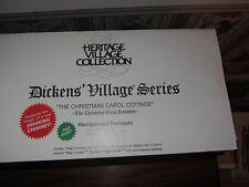 Dept 56 Dickens Village The Christmas Carol Cottage; Mint In Box