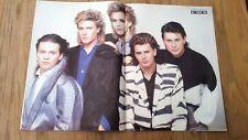 DURAN DURAN 'best band 1984' Centerfold magazine POSTER 17x11 inches