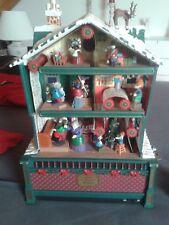 Mr Christmas Spieluhr +++ Santa´s Musical Workshop +++ Haus +++ OVP