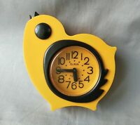 "Vintage rare alarm clock. ""GLORY"" Chicken. Mechanics. USSR"