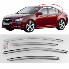 Chevrolet 2008+ Cruze 4Door sedan Chrome Sun Shade Rain Guard Door Visor K-702