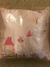 Girl's Satin Embroidered Cushion