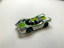 Nice Vintage 1970'S Slot Cars # 4 Chrome Porsche Racer Tyco Slot Car