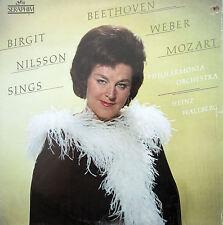 S-60353 Birgit Nilsson Sings Beethoven Weber Mozart NEAR MINT Seraphim Stereo