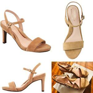 Brand new Taryn Rose Jenni Women's Weatherproof Suede Sandal Beige Size 37