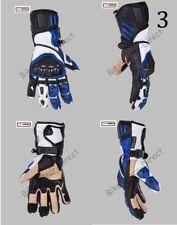 Gants noirs en cuir de vache pour motocyclette taille XL