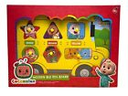 Cocomelon Wooden Bus Peg Board Childrens Learning Puzzle Toddler Learning Game