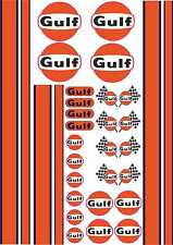 1-18 Scale Model Decals GT 40 Le Mans Style Exterior Vinyl Stickers A4 Sheet