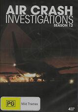 Air Crash Investigations Series 12 NEW, BUT UNSEALED! 13 Eps 4-Disk Set Region 0