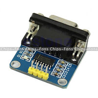 RS232 Serial Port To TTL Converter Module MAX3232 DB9 Connector With Cable CF