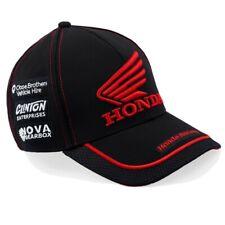 Honda Bsb Black round peak Cap. Cappellino Casquette gorra Honda kappe