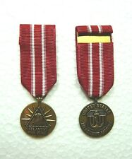 US Merchant Marine Atlantic Service Medal, miniature