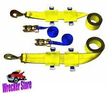 "3"" UNDERLIFT TIE DOWN STRAP KIT for Century, Vulcan, Miller Bus Lift, Wheel Lift"