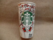 2017 Starbucks Holiday Ceramic Tumber 12oz