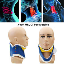 Medical Neck Collar Cervical Traction Device Support Brace Adjustable Strecher U