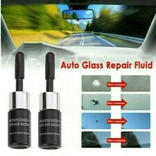 5Pc Automotive Glass Nano Repair Fluid Car Windshield Resin Crack Tools Kit US