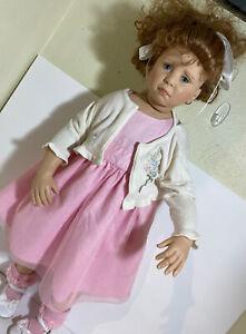 "Great American Doll Company TRIXIE 29"" Doll Rotraut Schrott  297/350 vinyl"