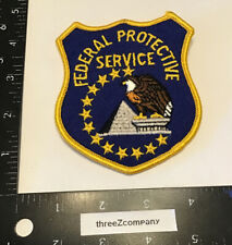 Vintage Federal Protective Service Police Patch