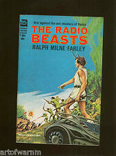 F-304  THE RADIO BEASTS   by Ralph Milne Farley   ACE Sci/Fi