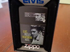 ELVIS PRESLEY HEARTBREAK HOTEL ZIPPO LIGHTER MINT IN BOX