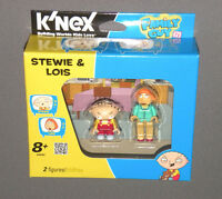 Stewie & Lois KNEX 2 Figures Family Guy K'Nex Building Set 44042 TV Show