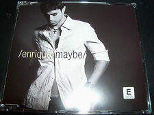 Enrique Iglesias Maybe Australian Enhanced CD Single + Stickers