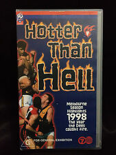 THE DEMONS~HOTTER THAN HELL~MELBOURNE 1998 SEASON HIGHLIGHTS~NEW & SEALED VIDEO