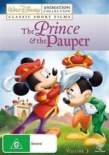 Disney Animation Collection - The Prince And The Pauper : Vol 3 (DVD, 2009)