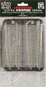 New Kato 40-021 UniTram 124mm Transition Track (2)