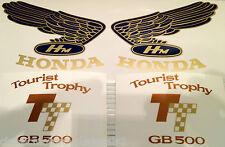 HONDA GB500 GB500TT RESTORATION DECAL SET