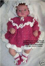 Crochet pattern: bébé / reborn: framboise Delight NPP cro139 par frandor formats