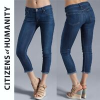CITIZENS OF HUMANITY Avedon Frayed Hem Crop Jeans Size 25 | 4120