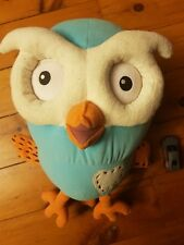 Large ABC Kids Hootabelle Owl Soft Plush Toy From Giggle Hoot - 40 cms, Free P&H