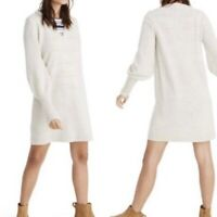 Michael Kors Ribbed Merino Wool Cashmere Sweater Pullover
